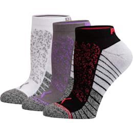 Women's Low Cut Socks [3 Pack], DARK GREY, small
